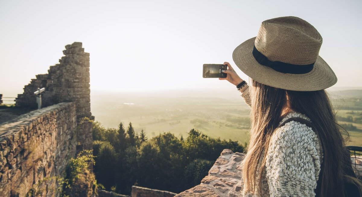 Photo smartphone - Château du Haut-Barr - Alsace