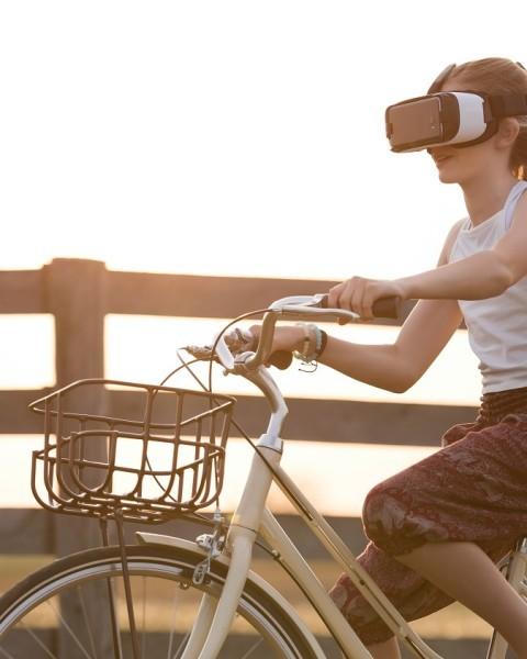 Vélo et réalité virtuelle