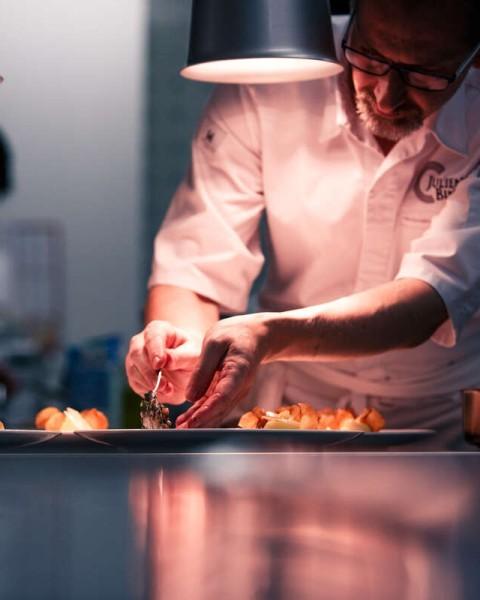 Julien Binz, chef étoilé