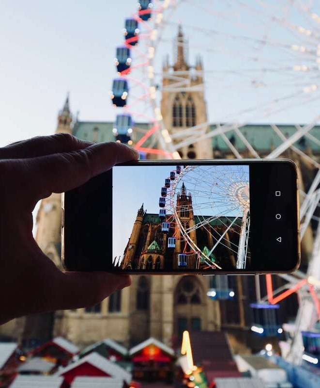 Photographier la Grande Roue à Metz