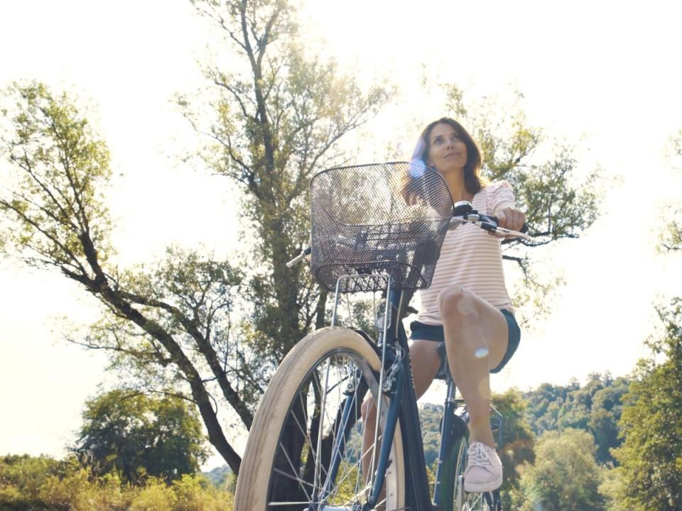 Balade à vélo en nature